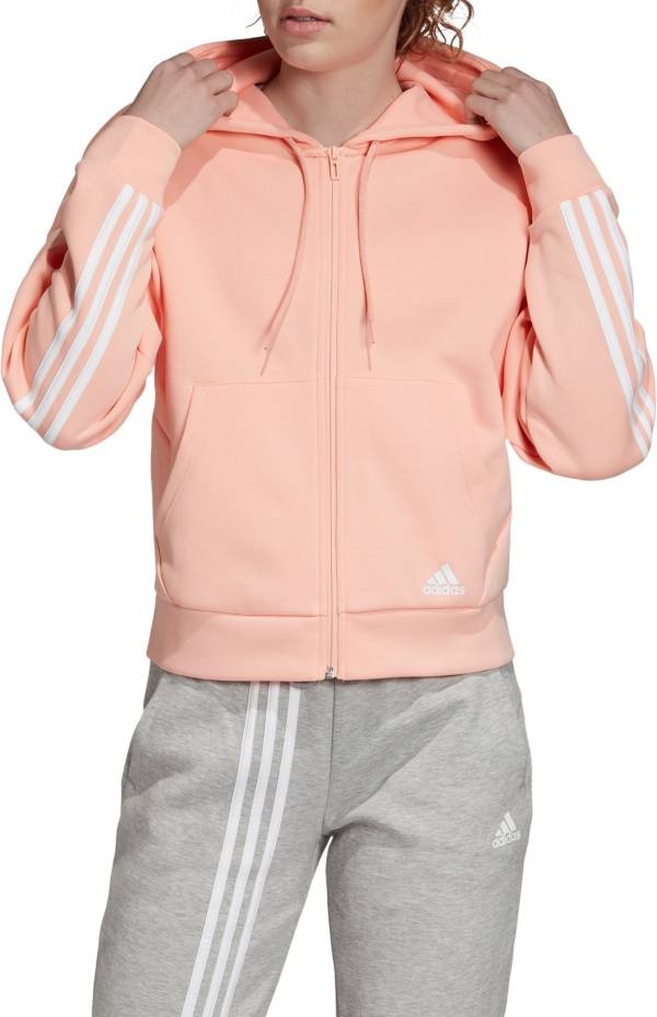 contar Mamut Sesión plenaria  adidas Women's Must Have 3-Stripes Full Zip Hoodie | DICK'S Sporting Goods