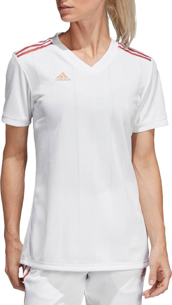 adidas Women's Pearl Tiro Soccer Jersey product image