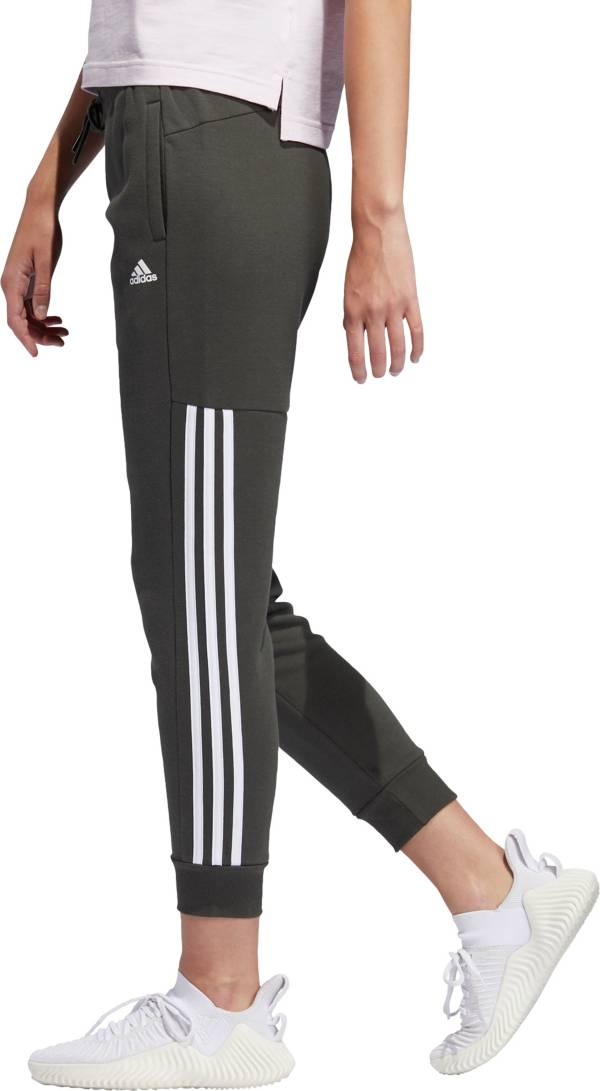 adidas 3 stripes pants - women's