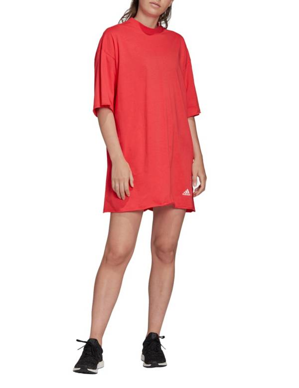 adidas Women's Recycled Cotton Over-Sized T-Shirt Dress product image