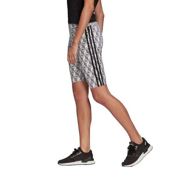 adidas Women's Foundation Mono 3-Stripes Shorts product image