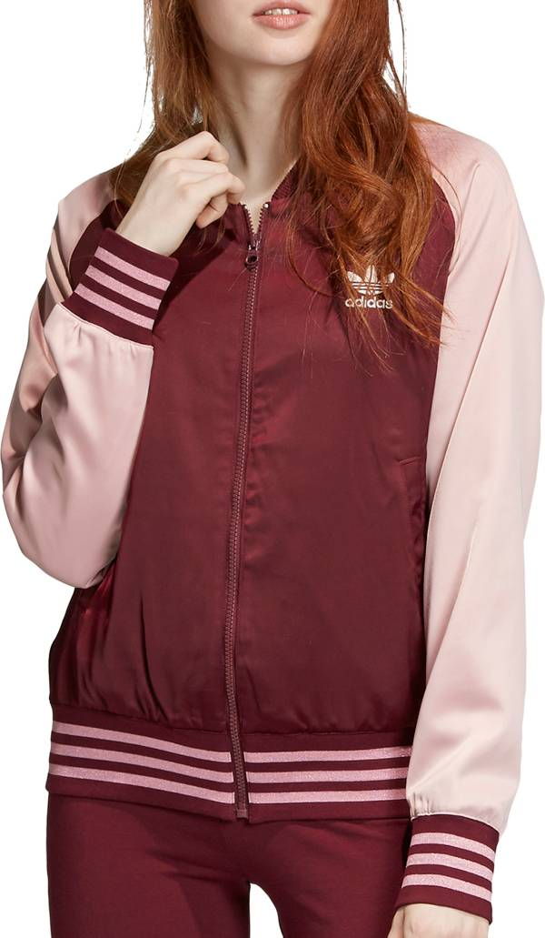 adidas Originals Women's Bellista Satin Bomber Jacket product image