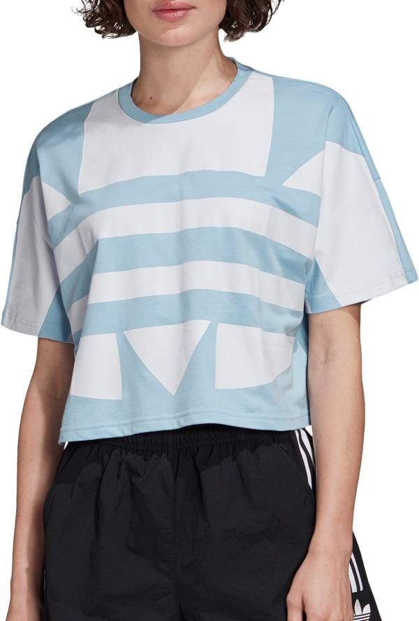 adidas Originals Women's Large Logo Cropped T-Shirt product image