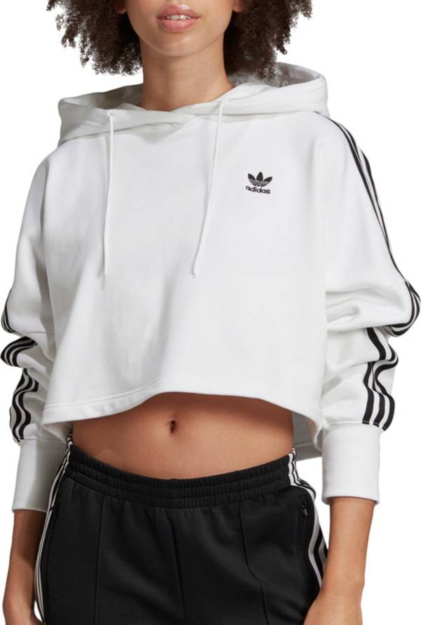 adidas Originals Women's Oversized Cropped Hoodie product image