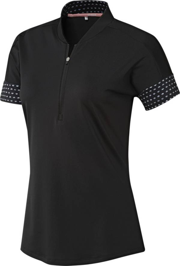 adidas Women's Ultimate365 Printed Short Sleeve Golf Polo product image