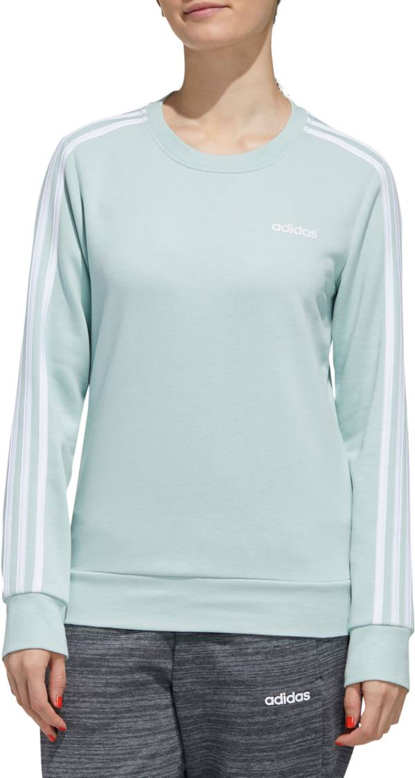 adidas Women's Essentials 3-Stripe French Terry Sweatshirt product image