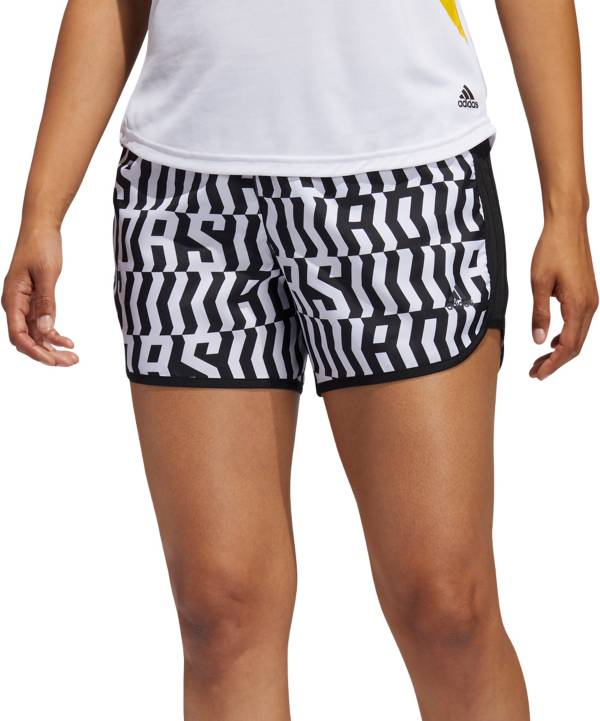 adidas Women's Marathon 20 Graphic 4'' Running Shorts product image