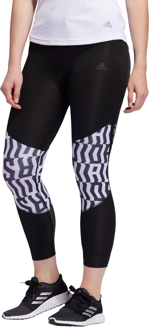 adidas Women's TKO Own The Run Graphic Tights product image