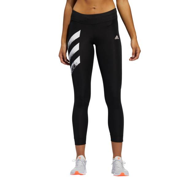 adidas Women's Own The Run Primeblue 3 Stripes Tights product image