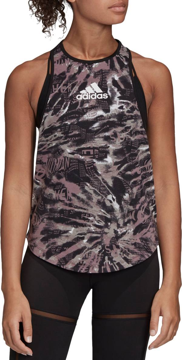 adidas Women's Badge Of Sport Racerback Tank Top product image