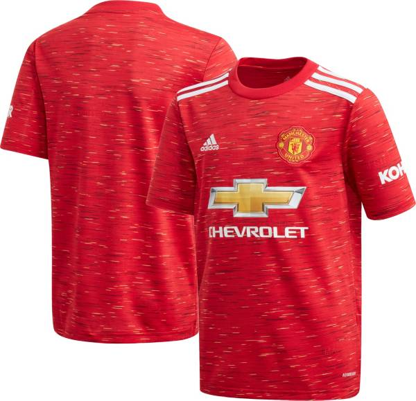 adidas Youth Manchester United '20 Home Replica Jersey product image