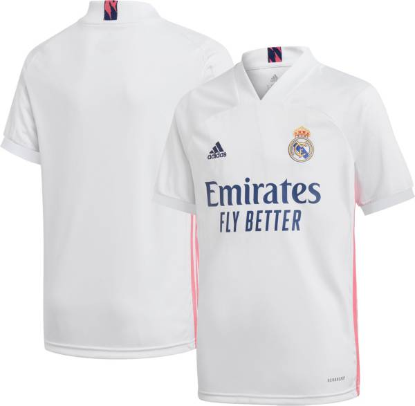 adidas Youth Real Madrid '20 Home Replica Jersey product image