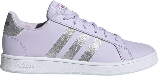 adidas Kids' Grade School Grand Court Sparkle Shoes product image