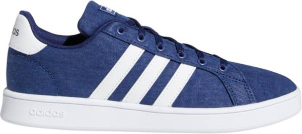 adidas Kids' Grade School Grand Court Canvas Shoes product image