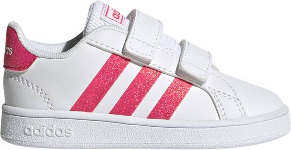 adidas Toddler Grand Court Sparkle Shoes product image