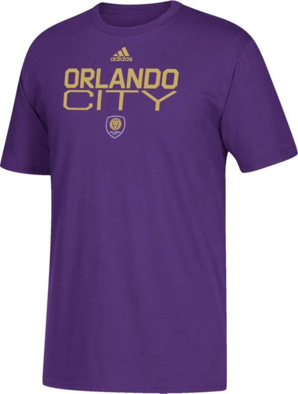 adidas Youth Orlando City Squad White T-Shirt product image