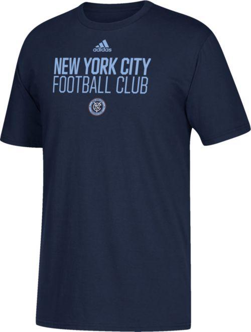 info for 5d86c b78ad adidas Men s New York City FC Big Logo Navy T-Shirt. noImageFound. Previous