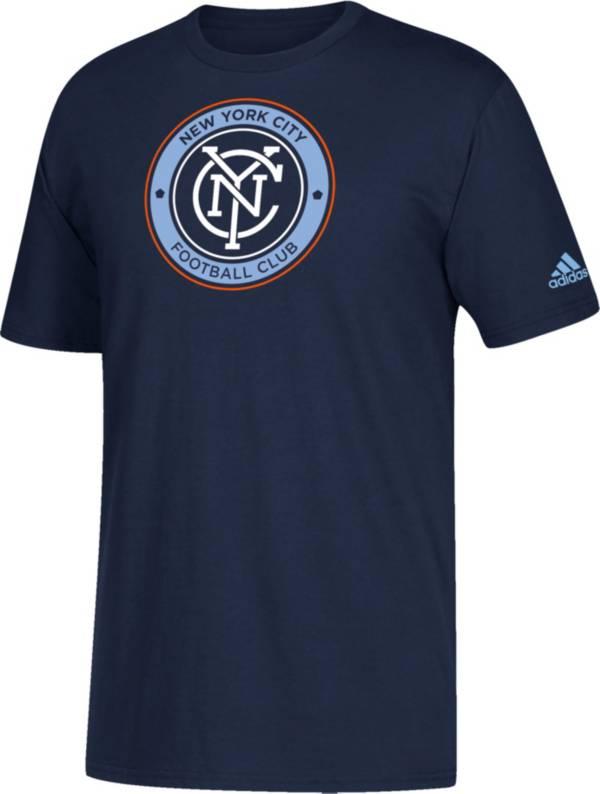 adidas Youth New York City FC Squad Navy T-Shirt product image