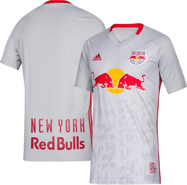 adidas Youth New York Red Bulls Primary Replica Jersey product image