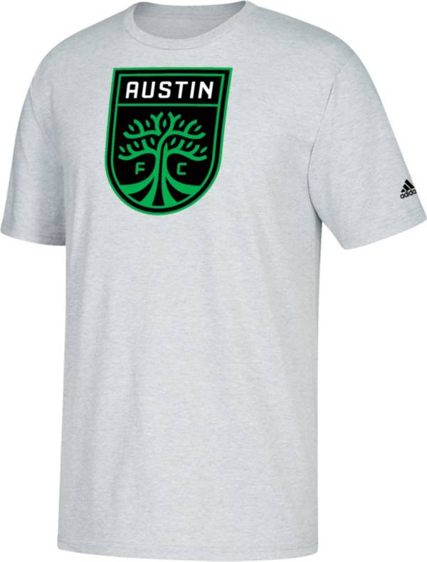 adidas Youth Austin FC Logo Gray T-Shirt product image
