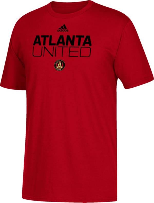 adidas Youth Atlanta United Big Logo Red T-Shirt product image