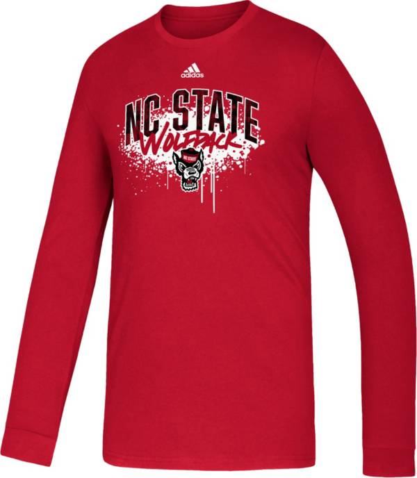 adidas Youth NC State Wolfpack Red Playmaker Amplifier T-Shirt product image