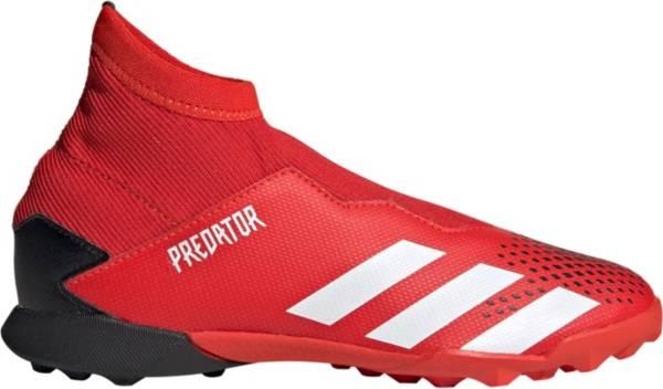 adidas Kids' Predator 20.3 Turf Laceless Soccer Cleats product image