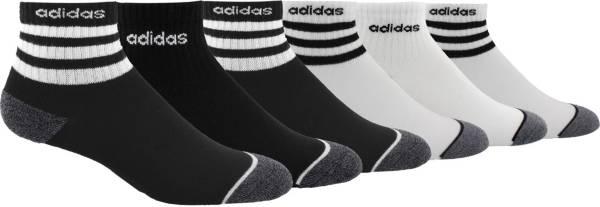 adidas Youth 3-Stripe Quarter 6-Pack Socks product image
