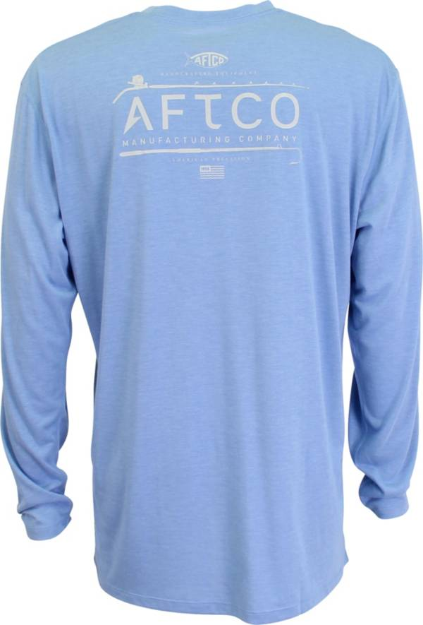 AFTCO Mens' Fishtale Performance Long Sleeve Shirt product image