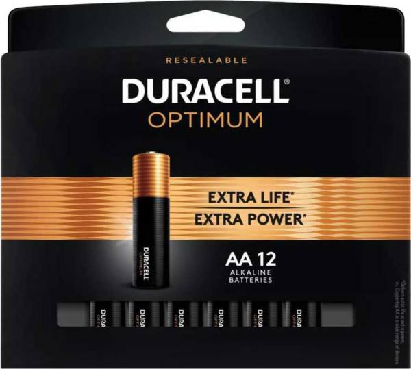 Duracell Optimum AA Batteries 12-Pack product image