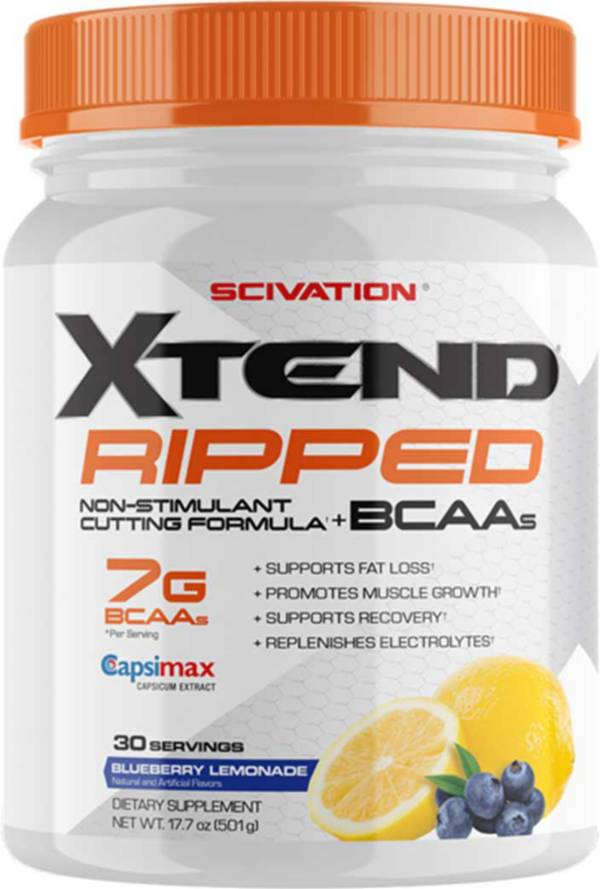 Scivation XTEND Ripped BCAA Powder Blueberry Lemonade 30 Servings product image