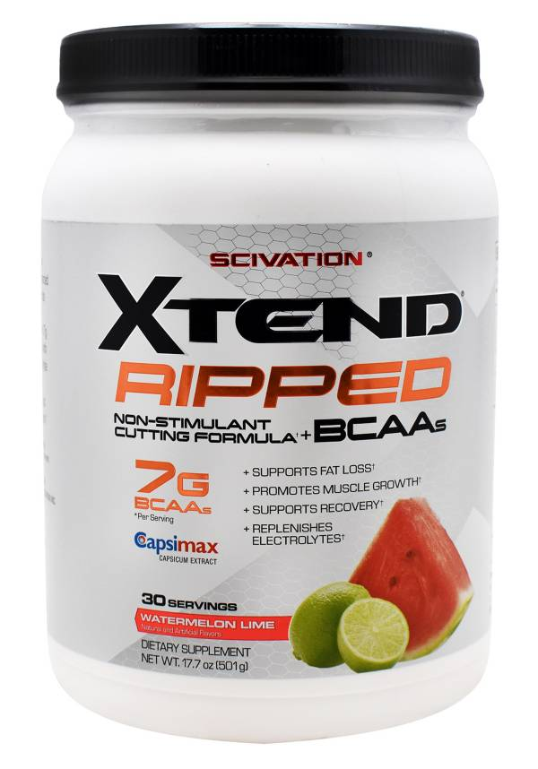 XTEND Ripped BCAA Powder Watermelon Lime 30 Servings product image