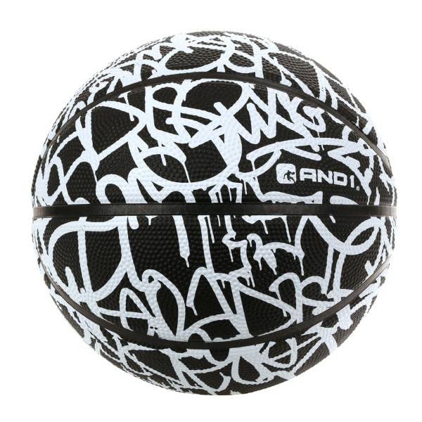 AND1 Handstyle Graffiti Mini Basketball product image
