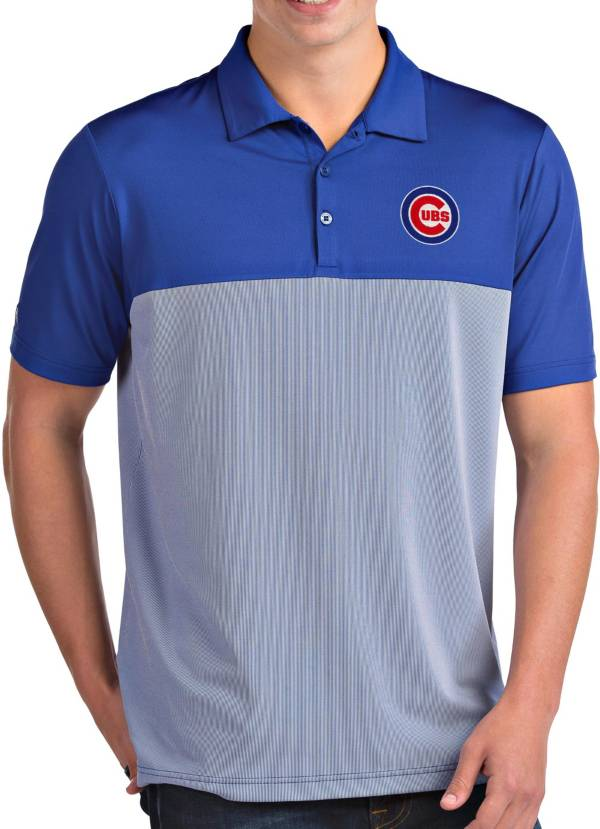 Antigua Men's Chicago Cubs Venture Royal Performance Polo product image