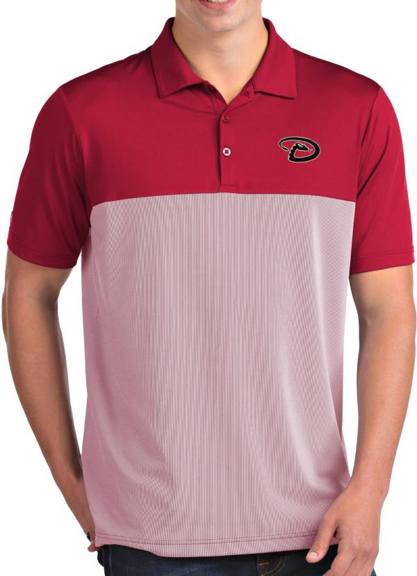 Antigua Men's Arizona Diamondbacks Venture Red Performance Polo product image