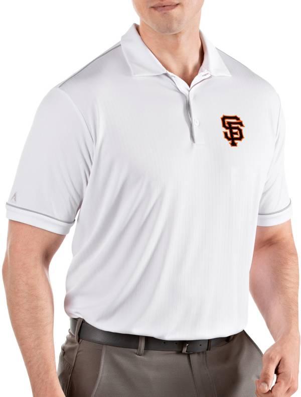 Antigua Men's San Francisco Giants Salute White Performance Polo product image