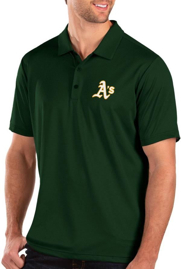 Antigua Men's Oakland Athletics Green Balance Polo product image