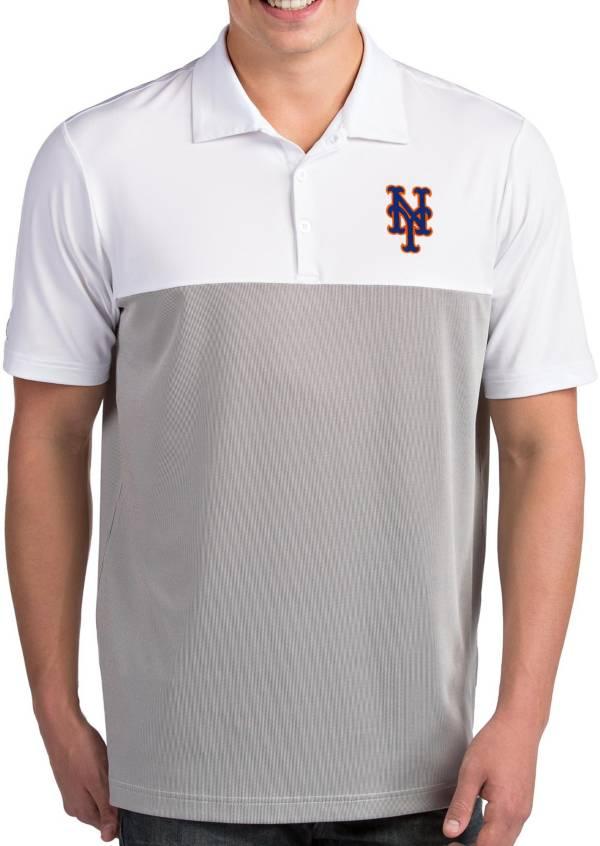 Antigua Men's New York Mets Venture White Performance Polo product image