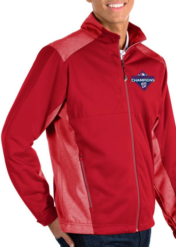 Antigua Men's 2019 World Series Champions Washington Nationals Revolve Full-Zip Jacket product image