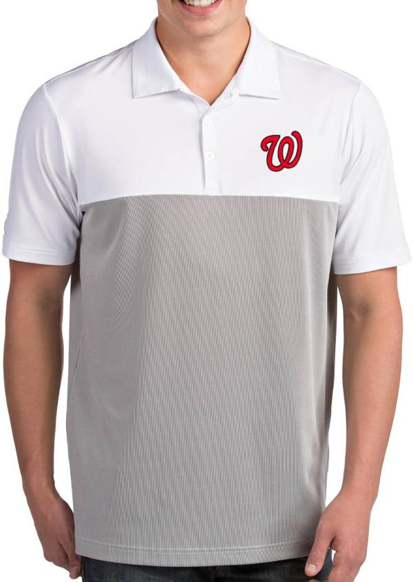 Antigua Men's Washington Nationals Venture White Performance Polo product image
