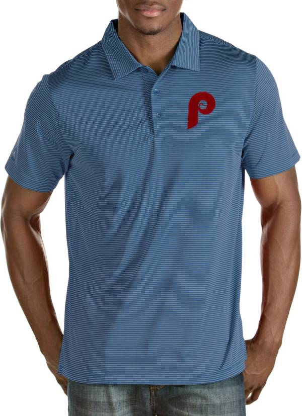 Antigua Men's Philadelphia Phillies Quest Performance Polo product image