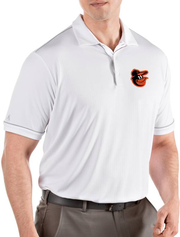 Antigua Men's Baltimore Orioles Salute White Performance Polo product image