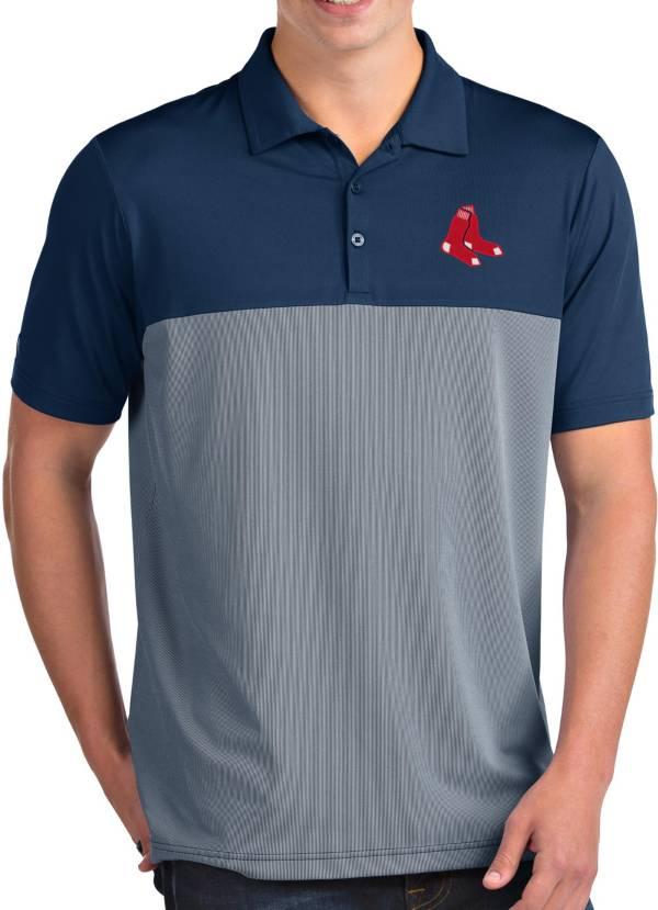 Antigua Men's Boston Red Sox Venture Navy Performance Polo product image
