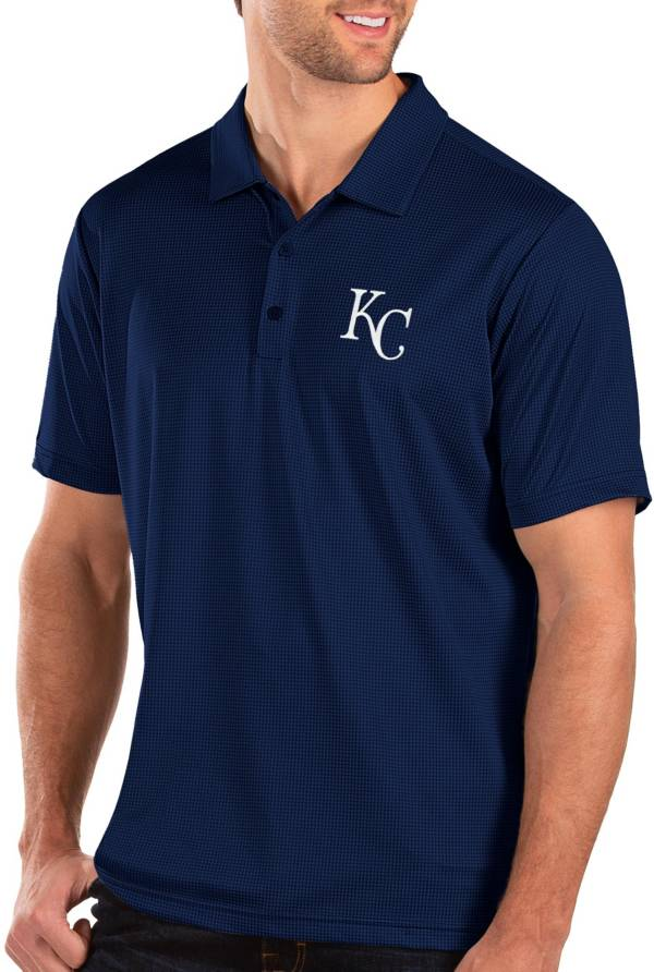 Antigua Men's Kansas City Royals Royal Balance Polo product image