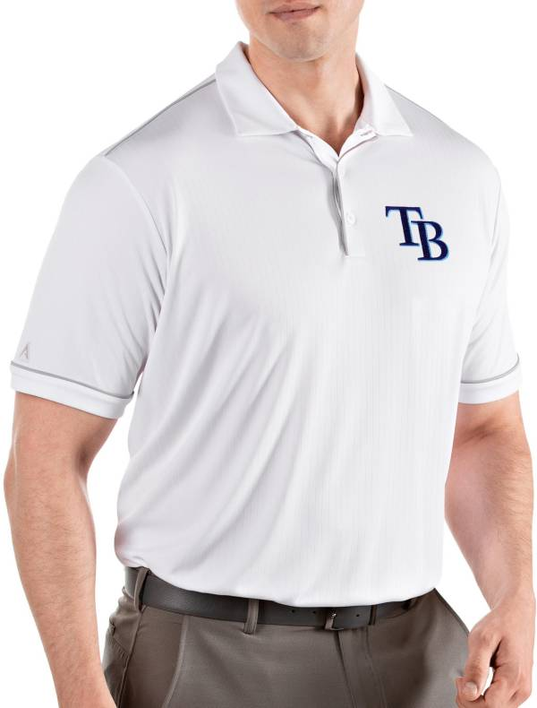 Antigua Men's Tampa Bay Rays Salute White Performance Polo product image