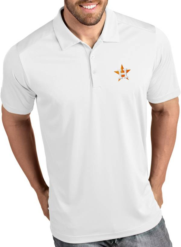 Antigua Men's Houston Astros Tribute White Performance  Polo product image