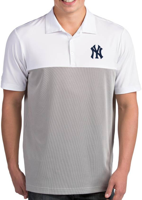 Antigua Men's New York Yankees Venture White Performance Polo product image