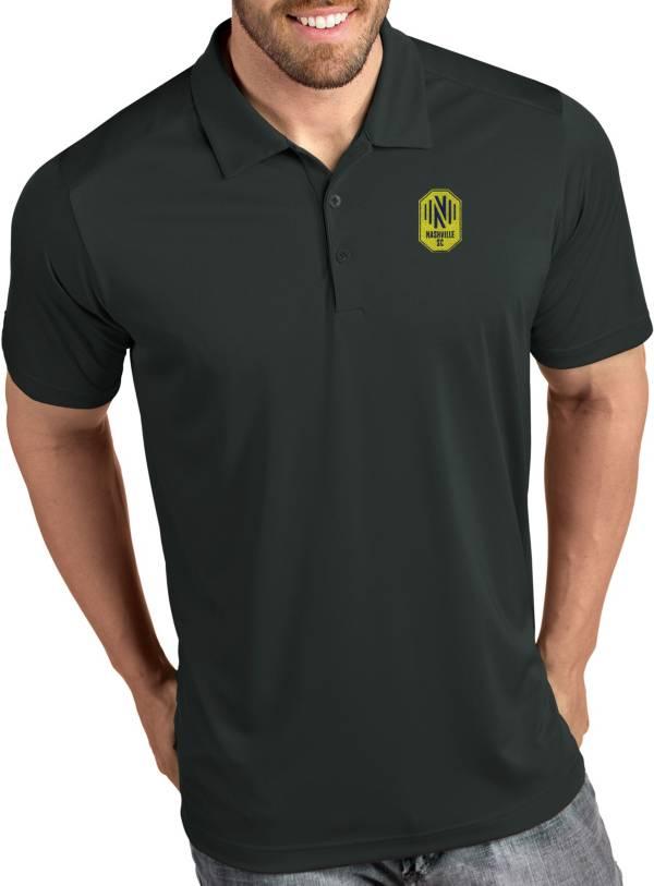 Antigua Men's Nashville SC Tribute Grey Polo product image