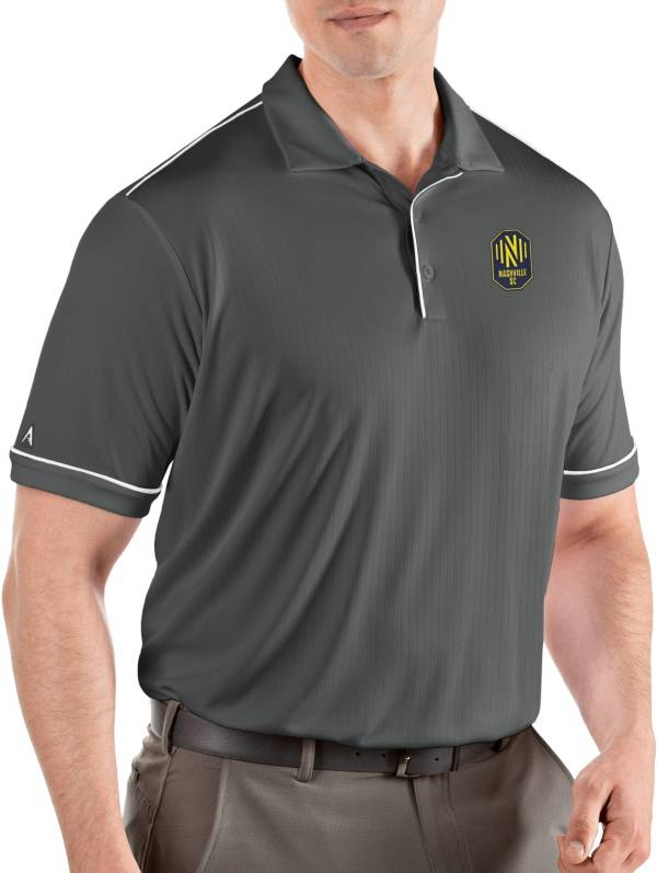 Antigua Men's Nashville SC Salute Grey Polo product image