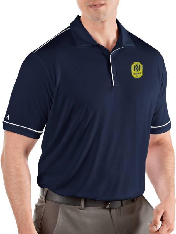 Antigua Men's Nashville SC Salute Navy Polo product image